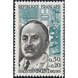 France Yvert Num 1350 ** Hyancinthe Vincent  1962