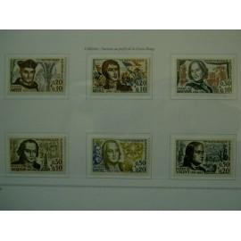 France Yvert Num 1370-1375 **   1963