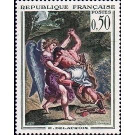 France Yvert Num 1376 ** Tableau Delacroix  1963