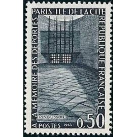 France Yvert Num 1381 ** Resistance  1963