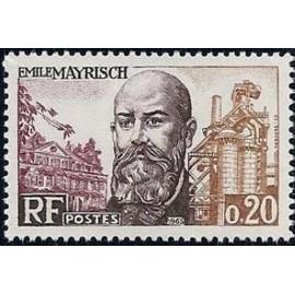 France Yvert Num 1385 ** E Mayrisch  1963