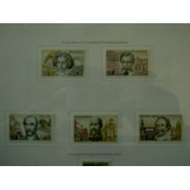 France Yvert Num 1382-1386 **   1963