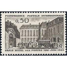 France Yvert Num 1387 **   1963