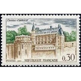 France Yvert Num 1390 ** Château Amboise  1963