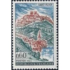 France Yvert Num 1392 ** Saint Flour  1963