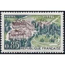 France Yvert Num 1393 ** Vittel  1963