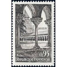 France Yvert Num 1394 ** Abbaye de Moissac  1963