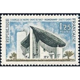 France Yvert Num 1394A ** Ronchamp  1963