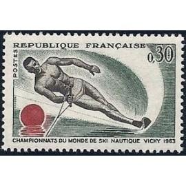 France Yvert Num 1395 ** Ronchamp  1963
