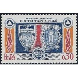 France Yvert Num 1404 ** Sapeur Pompier  1964