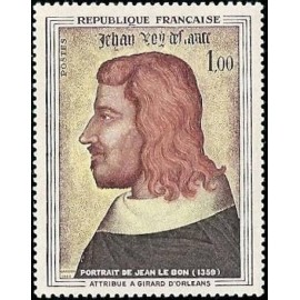 France Yvert Num 1413 ** Tableau Jean II  1964