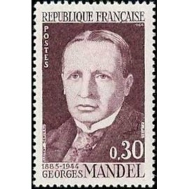 France Yvert Num 1423 ** Georges Mandel  1964