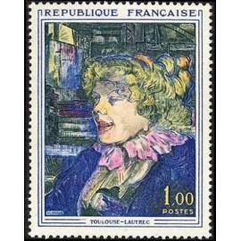 France Yvert Num 1426 ** Toulouse Lautrec  1964