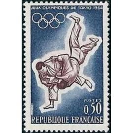 France Yvert Num 1428 ** Judo  1964