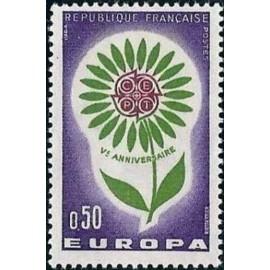 France Yvert Num 1431 ** Europa  1964