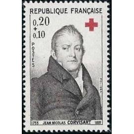 France Yvert Num 1433 ** Croix Rouge  1964