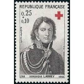 France Yvert Num 1434 ** Croix Rouge  1964