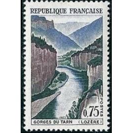 France Yvert Num 1438 ** Gorges du Tarn  1965