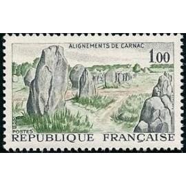 France Yvert Num 1440 ** Carnac  1965