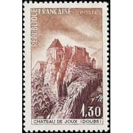 France Yvert Num 1441 ** Château de Joux  1965