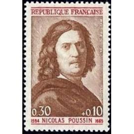 France Yvert Num 1443 ** Nicolas Poussin  1965
