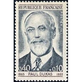 France Yvert Num 1444 ** Paul Dukas  1965