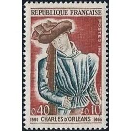 France Yvert Num 1445 ** Charles d Orleans  1965