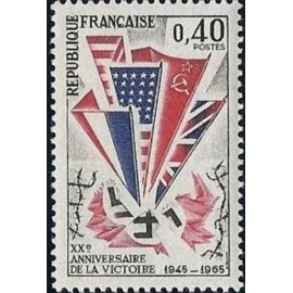 France Yvert Num 1450 **   1965