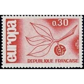 France Yvert Num 1455 ** Europa  1965