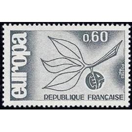 France Yvert Num 1456 ** Europa  1965
