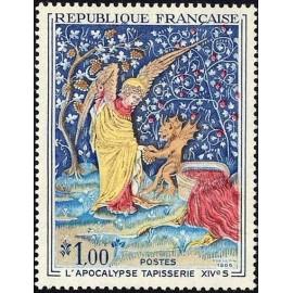 France Yvert Num 1458 ** Tableau Apocalypse  1965
