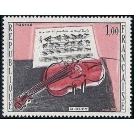 France Yvert Num 1459 ** Tableau Raoul Dufy  1965