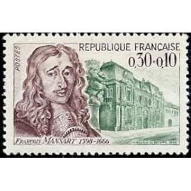 France Yvert Num 1471 ** François Mansart  1966