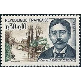 France Yvert Num 1472 ** Marcel Proust  1966