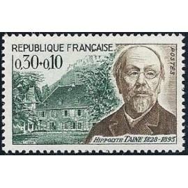 France Yvert Num 1475 ** H Taine   1966