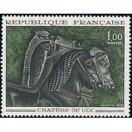 France Yvert Num 1478 ** Tableau Cheval  1966