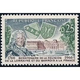 France Yvert Num 1483 ** Château Lunéville  1966