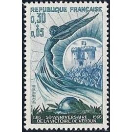 France Yvert Num 1484 ** Victoire de Verdun  1966