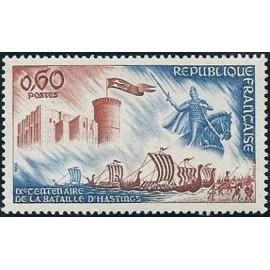 France Yvert Num 1486 ** Hastings  1966