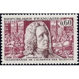 France Yvert Num 1487 ** Fontenelle  1966