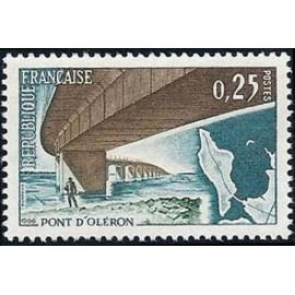France Yvert Num 1489 ** Pont Oleron  1966