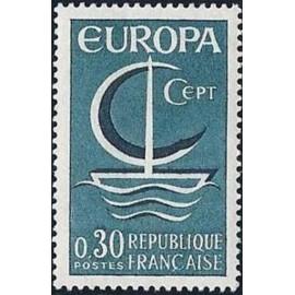 France Yvert Num 1490 ** Europa  1966
