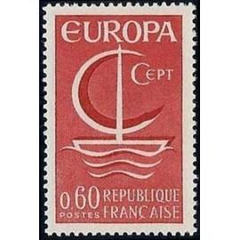 France Yvert Num 1491 ** Europa  1966