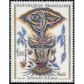 France Yvert Num 1493 ** Tableau de Lurçat  1966