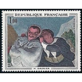 France Yvert Num 1494 ** Tableau Daumier  1966