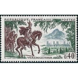 France Yvert Num 1495 ** Vercingétorix  1966