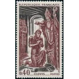 France Yvert Num 1496 ** Clovis  1966