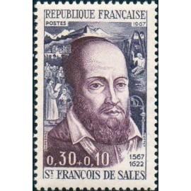 France Yvert Num 1513 ** St François de Sales  1967