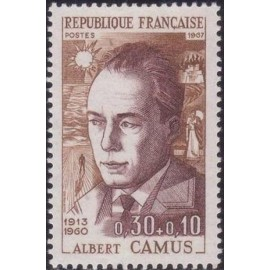 France Yvert Num 1514 ** Albert Camus  1967