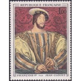 France Yvert Num 1518 ** Tableau François I  1967